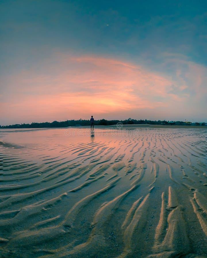 Εντυπώσεις στην παραλία devbag στοκ εικόνα με δικαίωμα ελεύθερης χρήσης