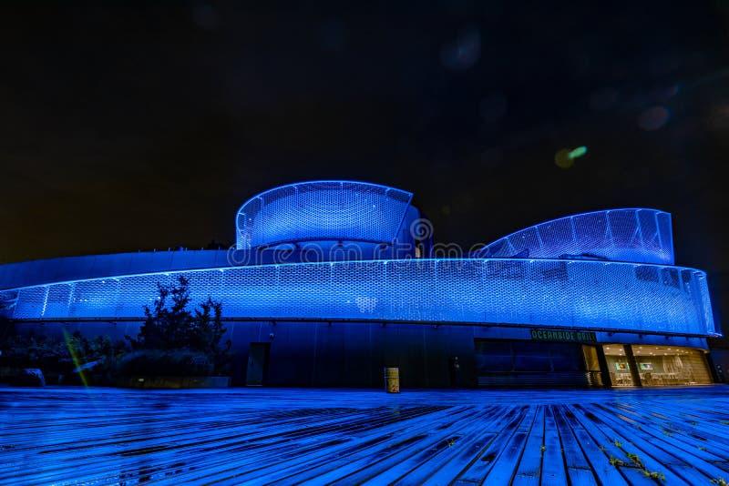 Ενυδρείο της Νέας Υόρκης μια νύχτα στοκ φωτογραφία με δικαίωμα ελεύθερης χρήσης