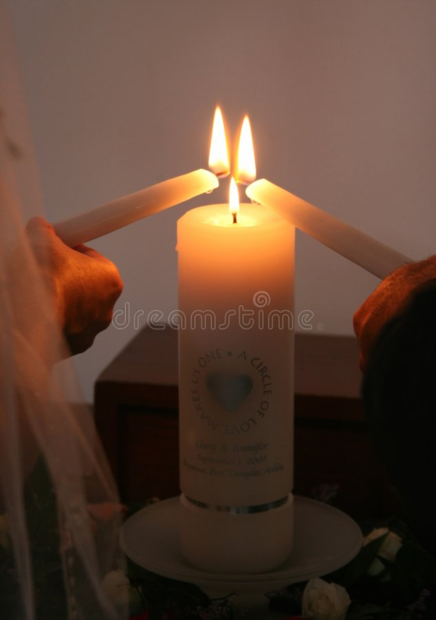 ενότητα κεριών στοκ εικόνες με δικαίωμα ελεύθερης χρήσης