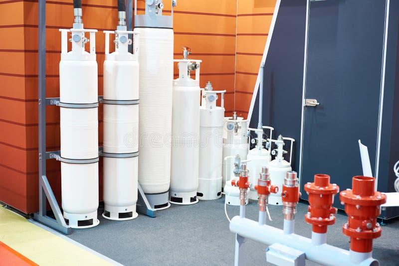 Ενότητες κυλίνδρων για την εξάλειψη αερίου στοκ φωτογραφία