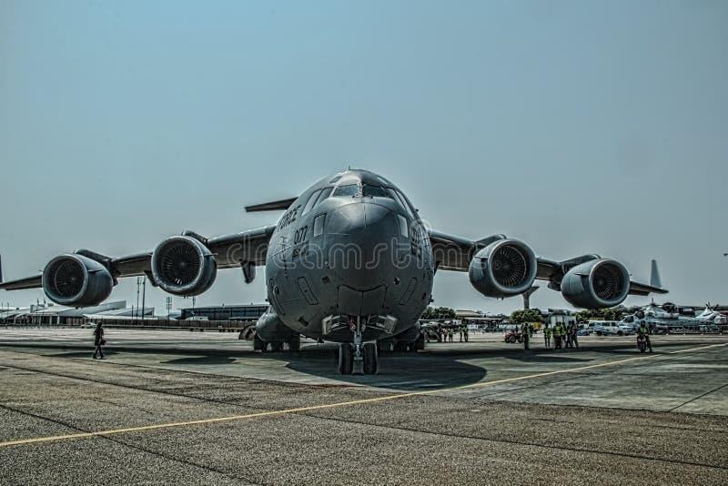 Ενώνει την κρατική πολεμική αεροπορία Globemaster στοκ φωτογραφία με δικαίωμα ελεύθερης χρήσης