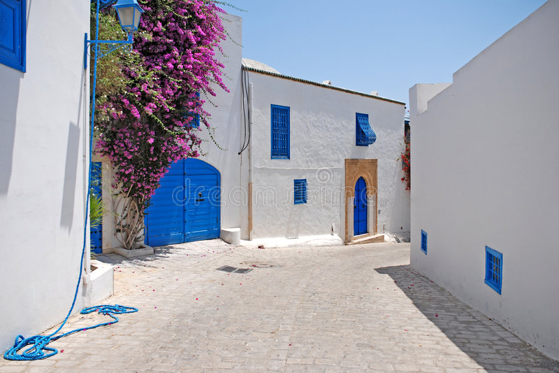 εν λόγω bou sidi Τυνησία στοκ φωτογραφίες