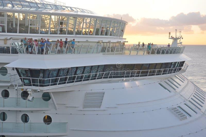 Εν πλω γοητεία κρατών μελών επιβατών των θαλασσών στοκ φωτογραφία