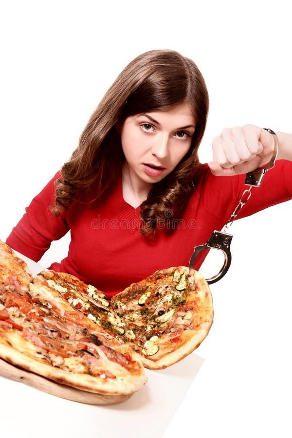 Εξάρτηση από την πίτσα στοκ εικόνες με δικαίωμα ελεύθερης χρήσης