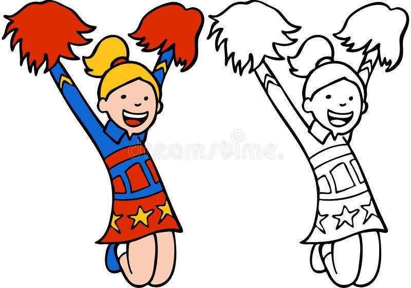 εξάρτηση κοριτσιών μαζορ&epsil διανυσματική απεικόνιση