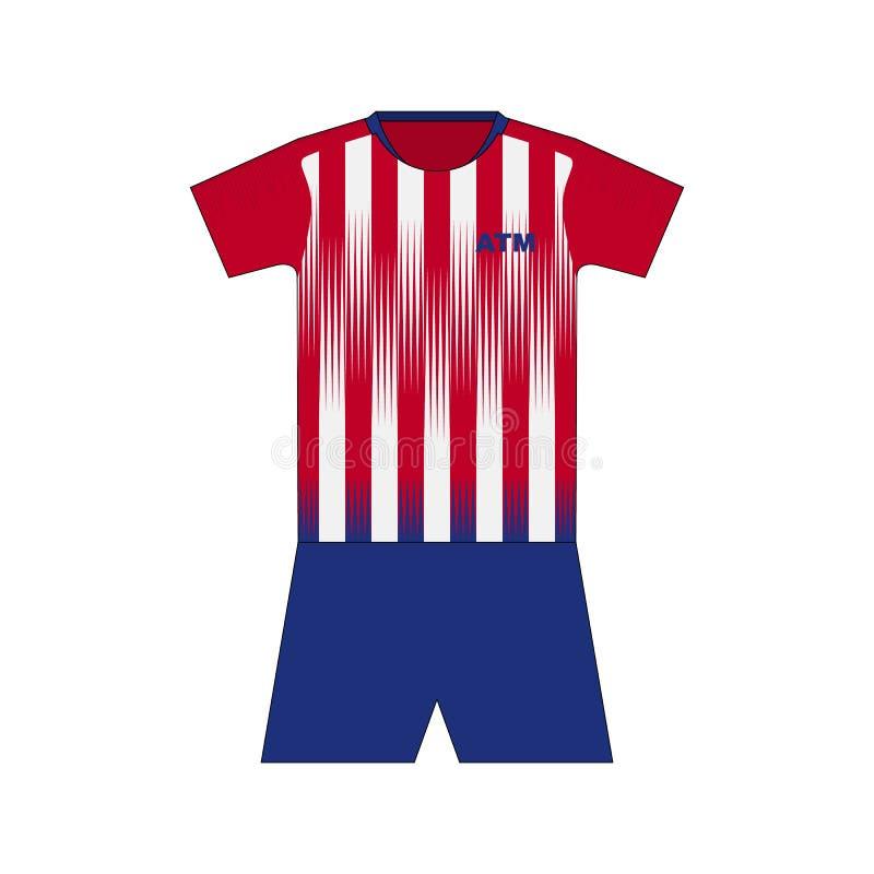 Εξάρτηση ποδοσφαίρου Μαδρίτη απεικόνιση αποθεμάτων