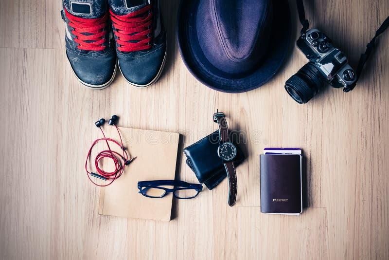 Εξάρτηση του ταξιδιώτη, του σπουδαστή, του εφήβου, της νέου γυναίκας ή του τύπου Overh στοκ εικόνες