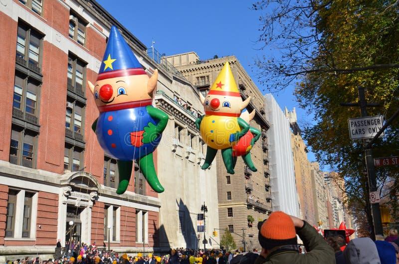 Εξάρτηση, Τσάρλυ & C.J. νεράιδα Baloons στοκ φωτογραφία