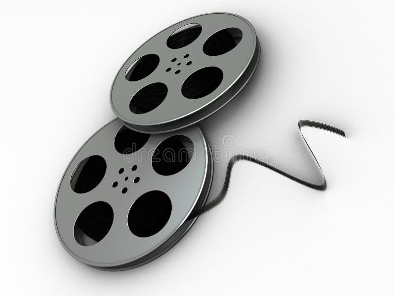 εξέλικτρα ταινιών απεικόνιση αποθεμάτων