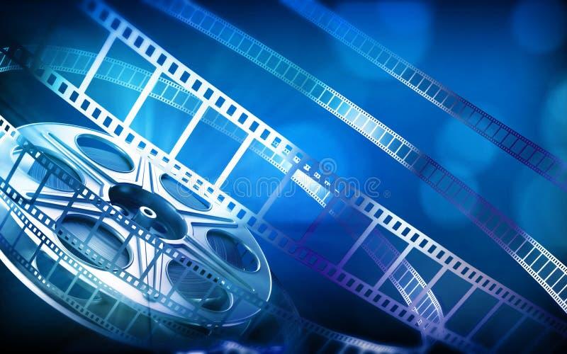 εξέλικτρο ταινιών κινηματ&om απεικόνιση αποθεμάτων