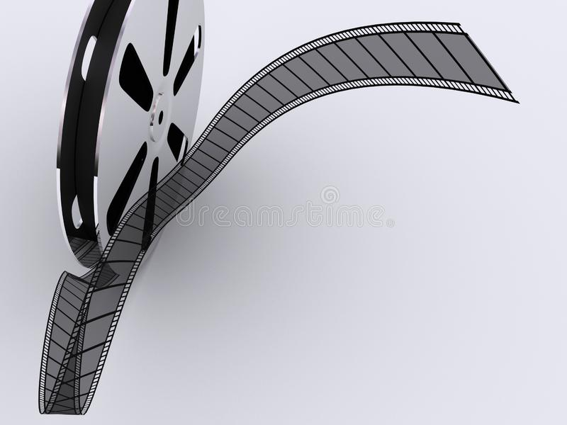 Εξέλικτρο ταινιών λουρίδων στοκ φωτογραφία με δικαίωμα ελεύθερης χρήσης