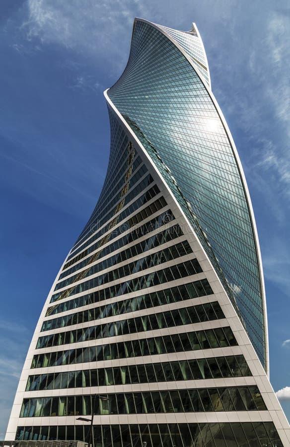 Εξέλιξη ` στο διεθνές εμπορικό κέντρο της Μόσχας, Μόσχα πύργων `, στοκ φωτογραφία με δικαίωμα ελεύθερης χρήσης