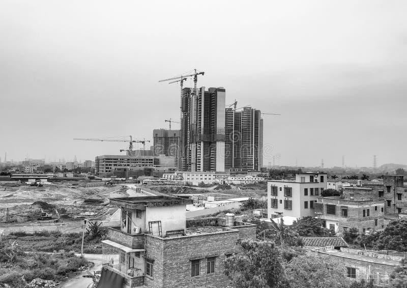 Εξέλιξη των πόλεων στοκ εικόνες