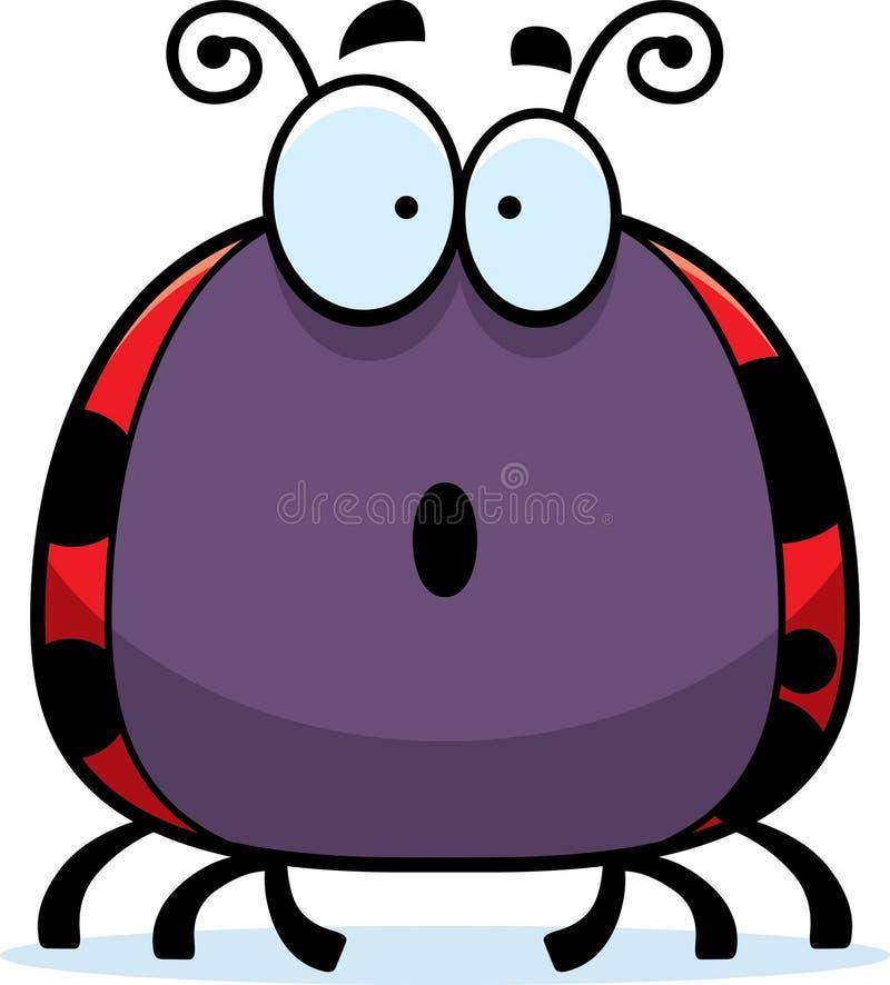 Εξέπληξε λίγο Ladybug ελεύθερη απεικόνιση δικαιώματος