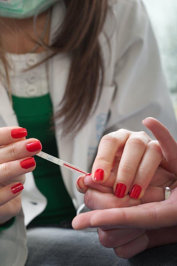εξέταση αίματος στοκ φωτογραφία με δικαίωμα ελεύθερης χρήσης