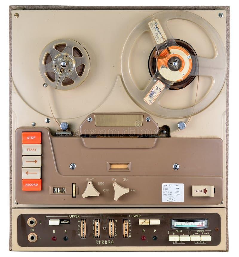Εξέλικτρο για να τυλίξει το όργανο καταγραφής ταινιών στοκ φωτογραφία με δικαίωμα ελεύθερης χρήσης