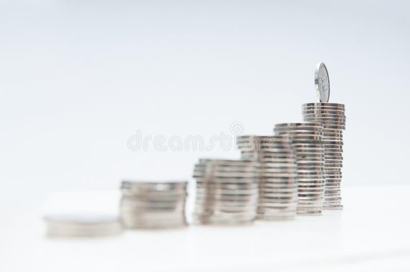 Εξέλιξη γραφικών παραστάσεων χρημάτων στοκ φωτογραφίες με δικαίωμα ελεύθερης χρήσης