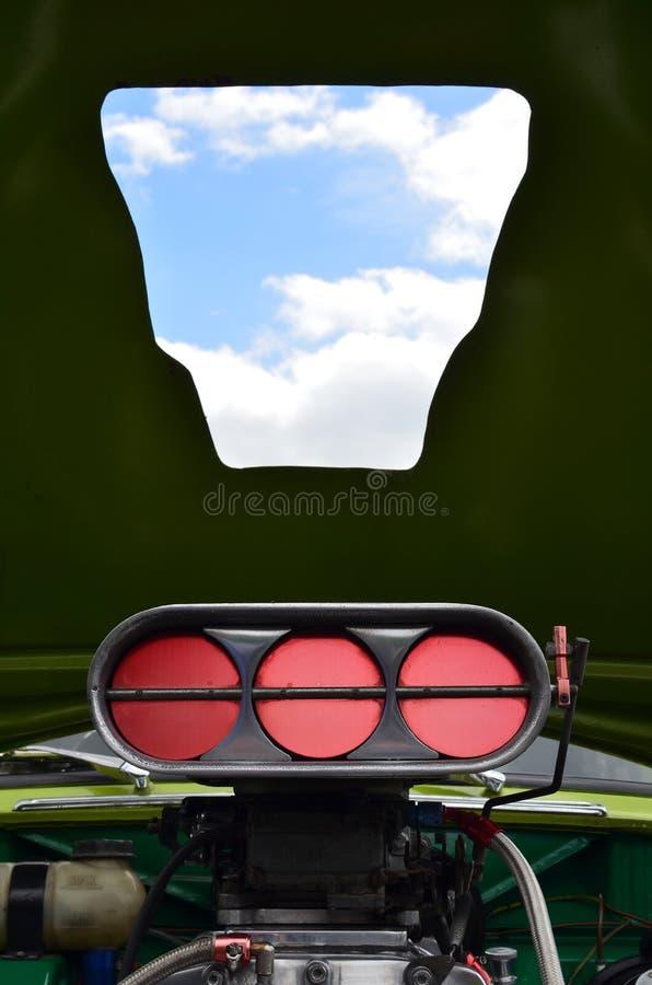 Εξαερωτήρας μηχανών σε μια ράβδο οδών στοκ φωτογραφία με δικαίωμα ελεύθερης χρήσης