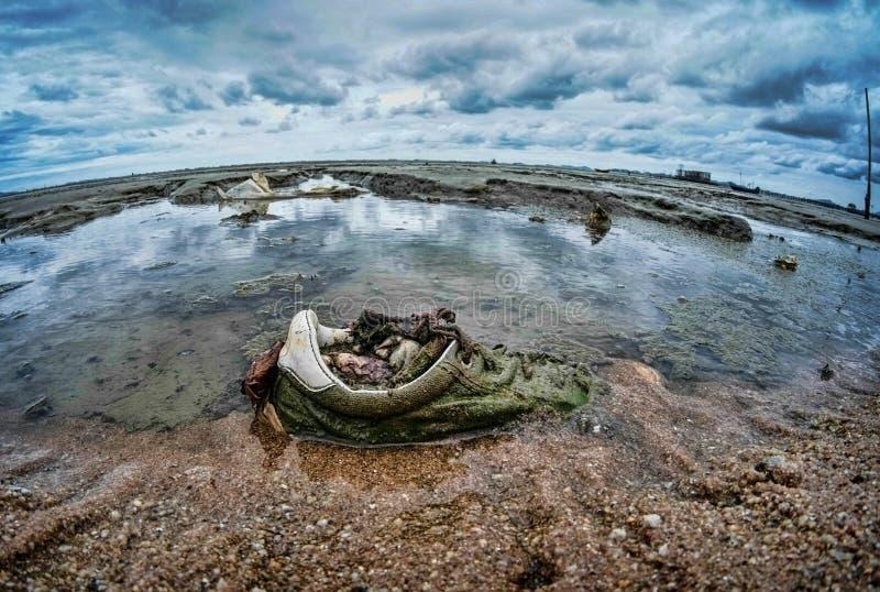 Εξαιρετικά ευρέα seascapes Ταϊλάνδη γωνίας στοκ εικόνες