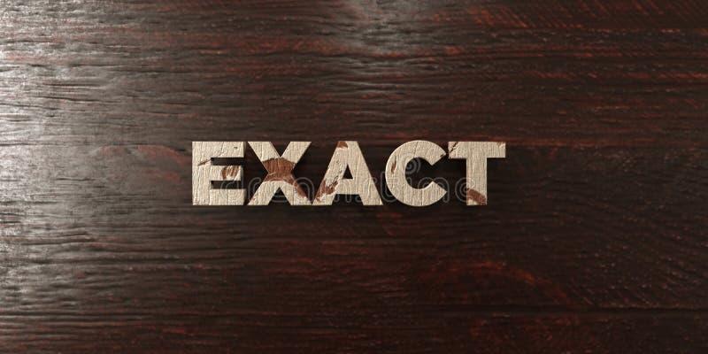 Εξαναγκάστε - βρώμικος ξύλινος τίτλος στο σφένδαμνο - το τρισδιάστατο δικαίωμα ελεύθερη εικόνα αποθεμάτων ελεύθερη απεικόνιση δικαιώματος