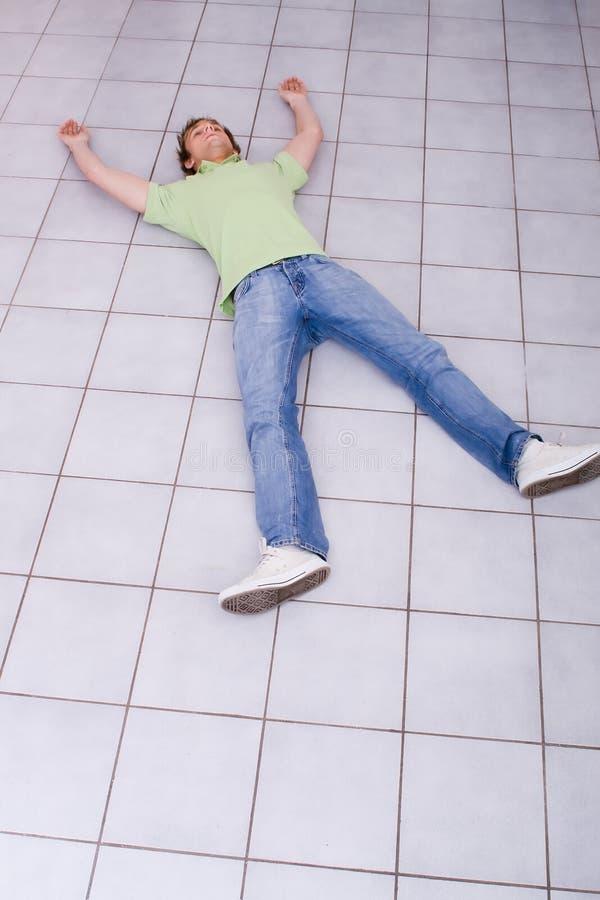 εξαντλημένο άτομο στοκ φωτογραφίες
