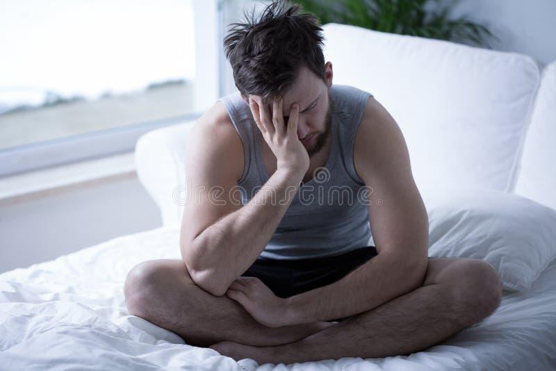 Εξαντλημένος το πρωί στοκ φωτογραφία με δικαίωμα ελεύθερης χρήσης