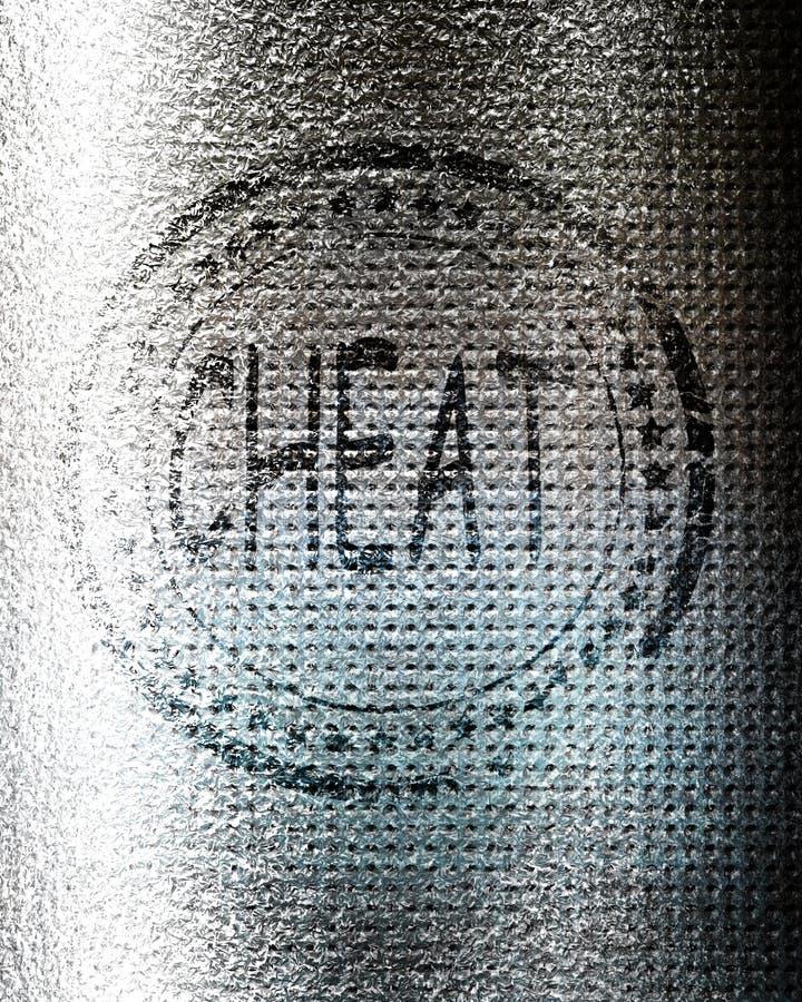 Εξαπατήστε το γραμματόσημο στο υπόβαθρο grunge στοκ φωτογραφία με δικαίωμα ελεύθερης χρήσης