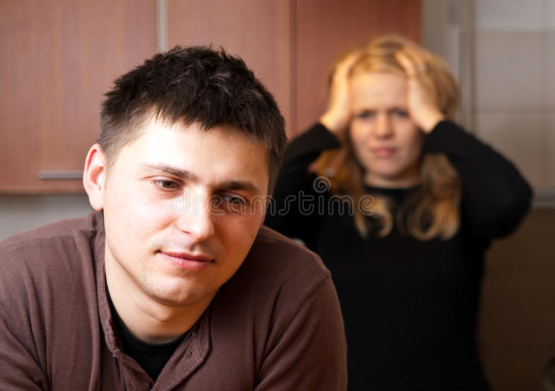 εξαπατώντας σύζυγος στοκ εικόνες