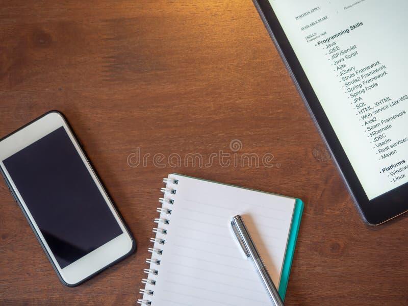 Εξαρτήματα για τη χρήση recruiter στοκ εικόνα με δικαίωμα ελεύθερης χρήσης