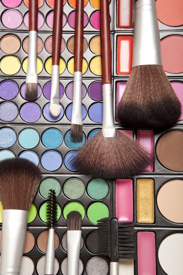 Εξαρτήματα Makeup στοκ εικόνα με δικαίωμα ελεύθερης χρήσης