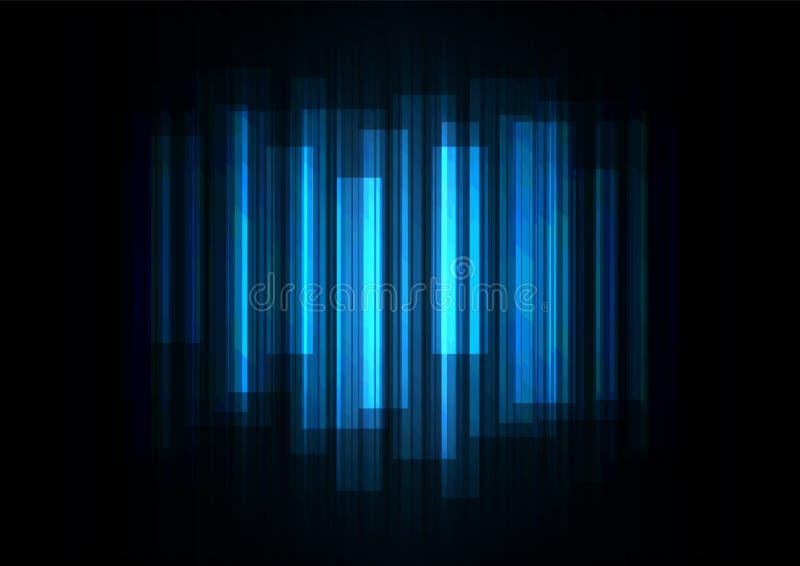 Εξασθενίστε την επικάλυψη φραγμών ταχύτητας στο σκοτεινό υπόβαθρο απεικόνιση αποθεμάτων