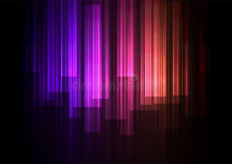 Εξασθενίστε την επικάλυψη φραγμών ταχύτητας στο σκοτεινό υπόβαθρο ελεύθερη απεικόνιση δικαιώματος
