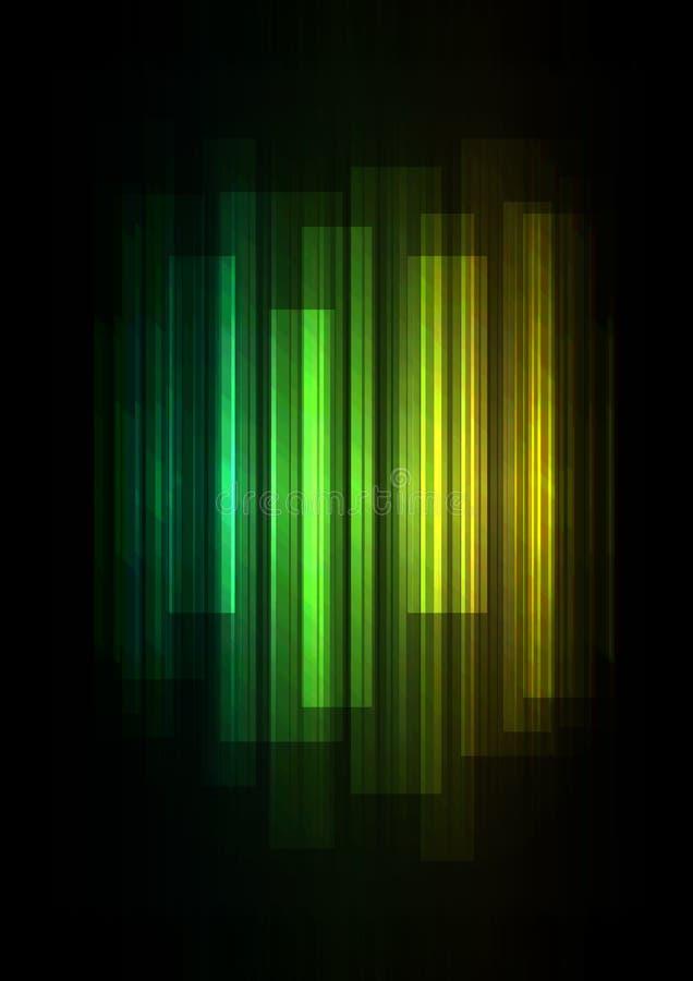 Εξασθενίστε την επικάλυψη φραγμών ταχύτητας στο σκοτεινό υπόβαθρο διανυσματική απεικόνιση