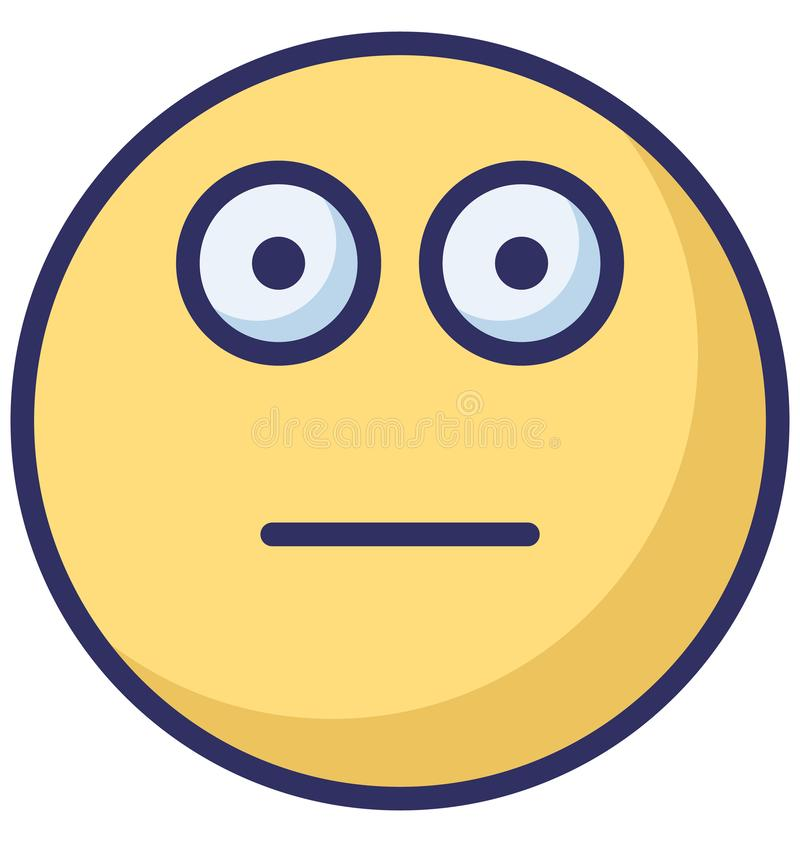 εξασθενίστε, emoticons απομονωμένο διάνυσμα εικονίδιο που μπορεί εύκολα να τροποποιήσει ή να εκδώσει απεικόνιση αποθεμάτων