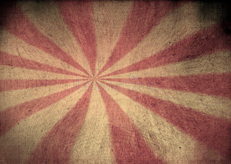 Εξασθενισμένος grunge starburst ελεύθερη απεικόνιση δικαιώματος