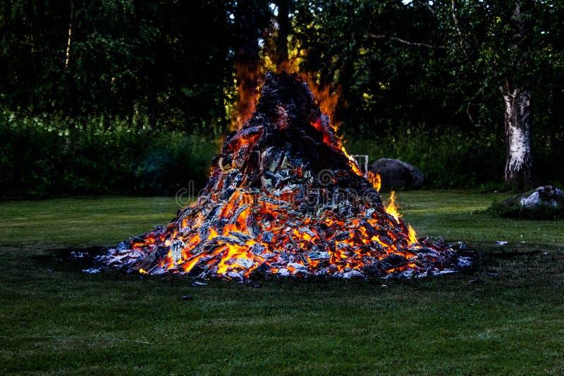 Εξετάστε την πυρκαγιά μου στοκ εικόνες