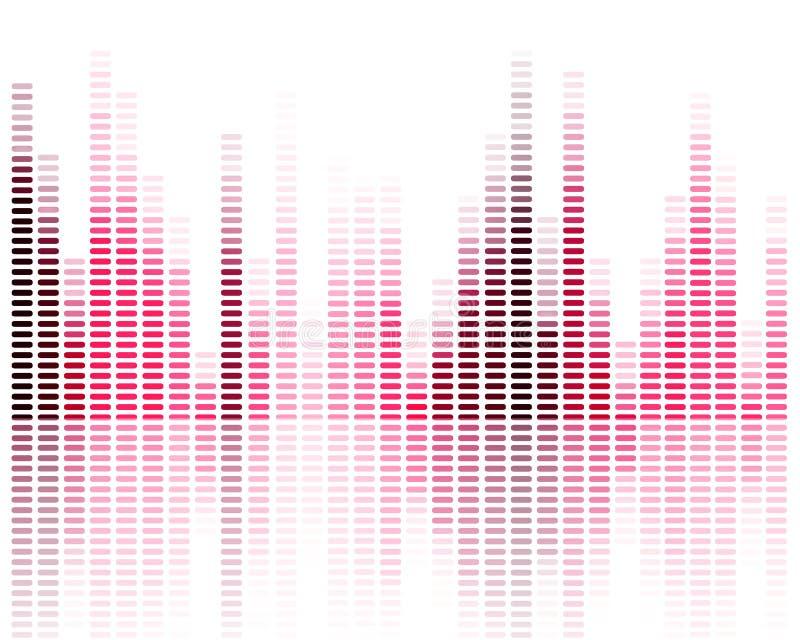 Εξισωτής μουσικής απεικόνιση αποθεμάτων