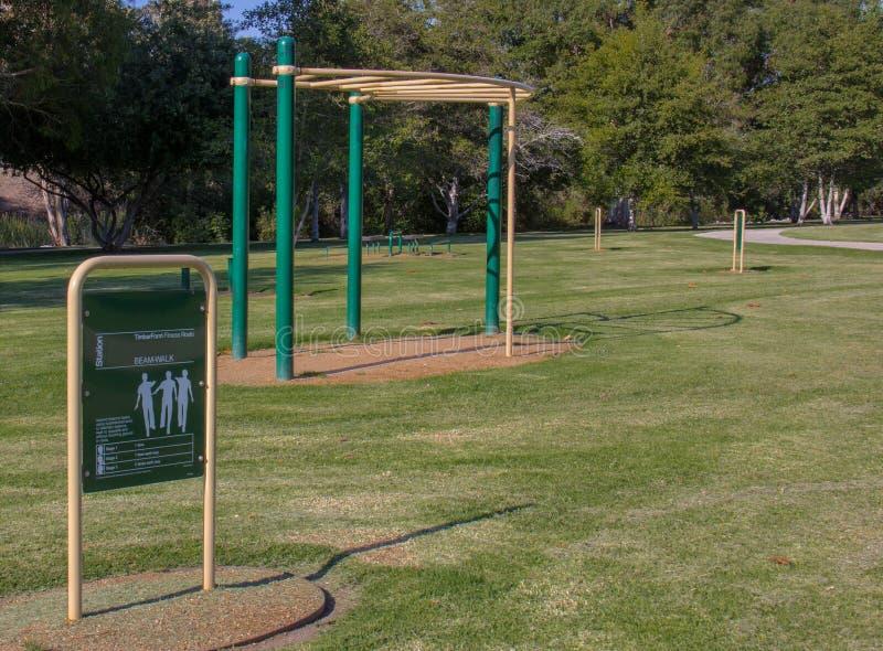 Εξοπλισμός άσκησης στο περιφερειακό πάρκο του William Mason στοκ εικόνες με δικαίωμα ελεύθερης χρήσης