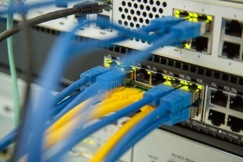 Εξοπλισμός ασφάλειας δικτύων Υποδομή Cybersecurity Ethernet, συνδεμένη με καλώδιο μετάδοση στοκ φωτογραφία με δικαίωμα ελεύθερης χρήσης