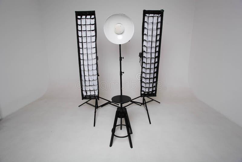 Εξοπλισμός στούντιο στοκ φωτογραφία