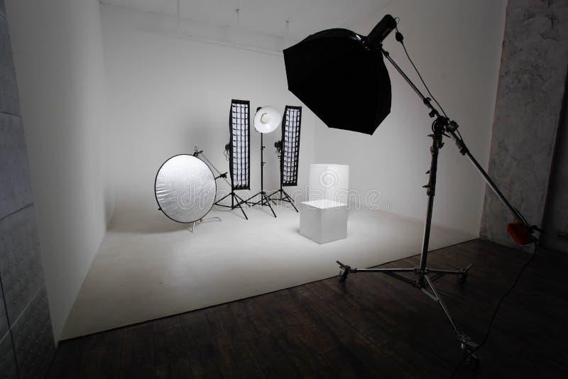 Εξοπλισμός στούντιο στοκ φωτογραφίες