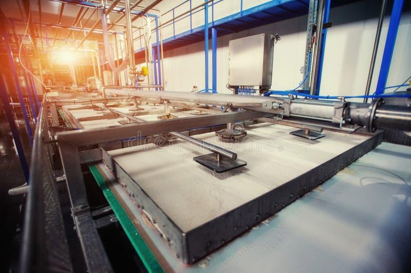 Εξοπλισμός της τεχνολογίας για την κατασκευή του αμύλου, καθαρισμός και proc στοκ εικόνες