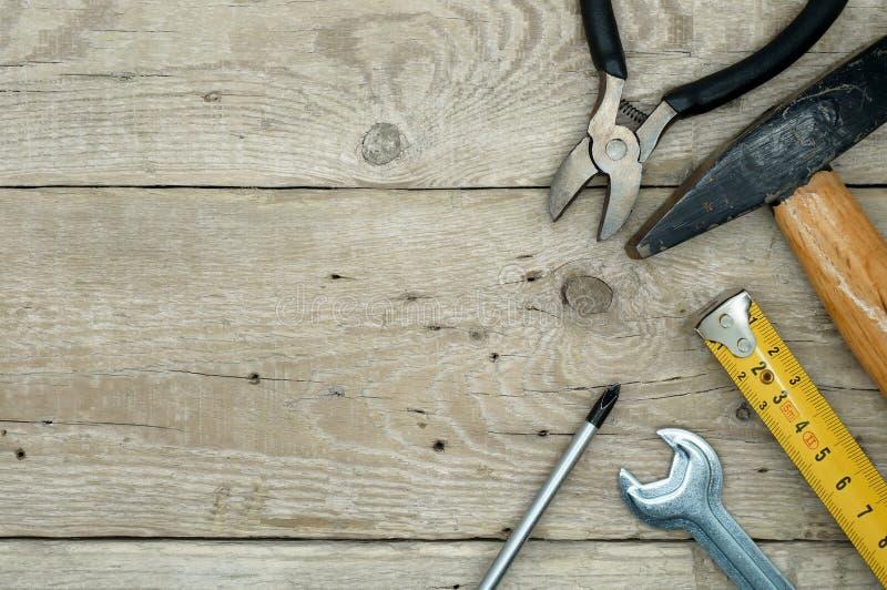Εξοπλισμός Handyman στοκ φωτογραφία με δικαίωμα ελεύθερης χρήσης