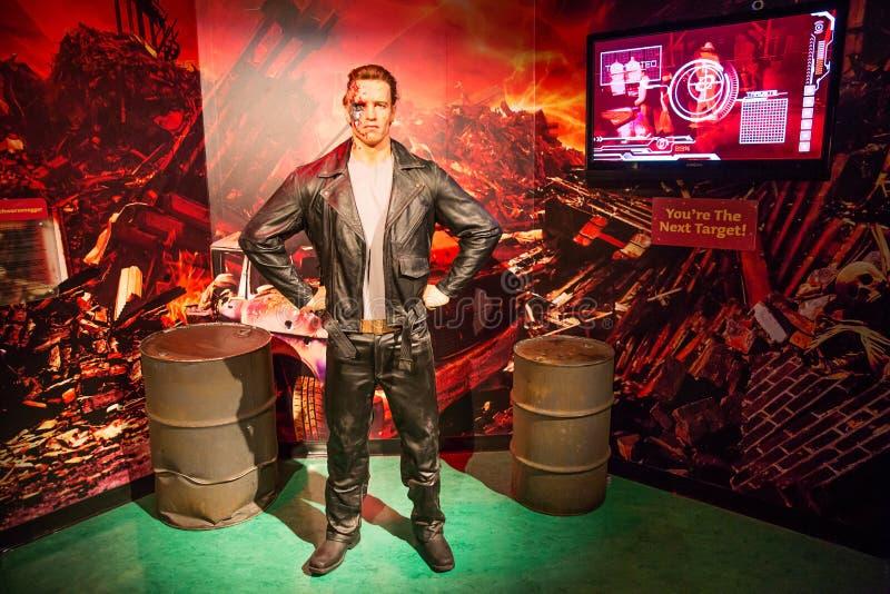 Εξολοθρευτής του Arnold Schwarzenegger στοκ φωτογραφίες