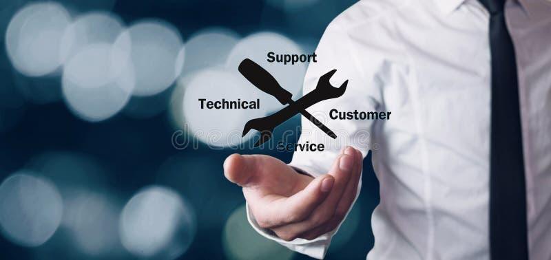 Εξυπηρέτηση πελατών τεχνικής υποστήριξης στοκ εικόνες