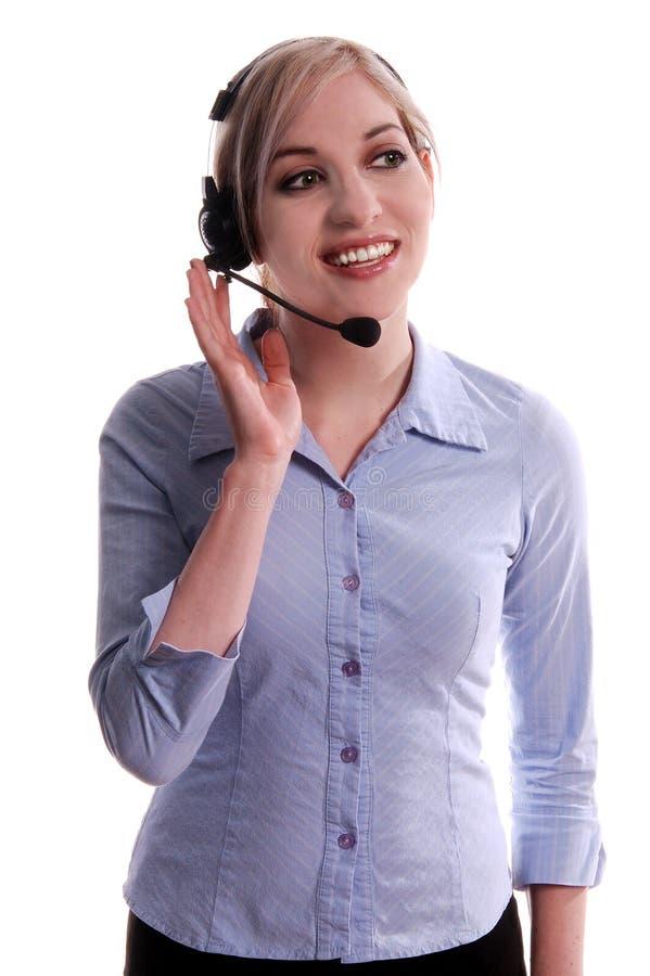 εξυπηρετήσεις πελατών στοκ φωτογραφία