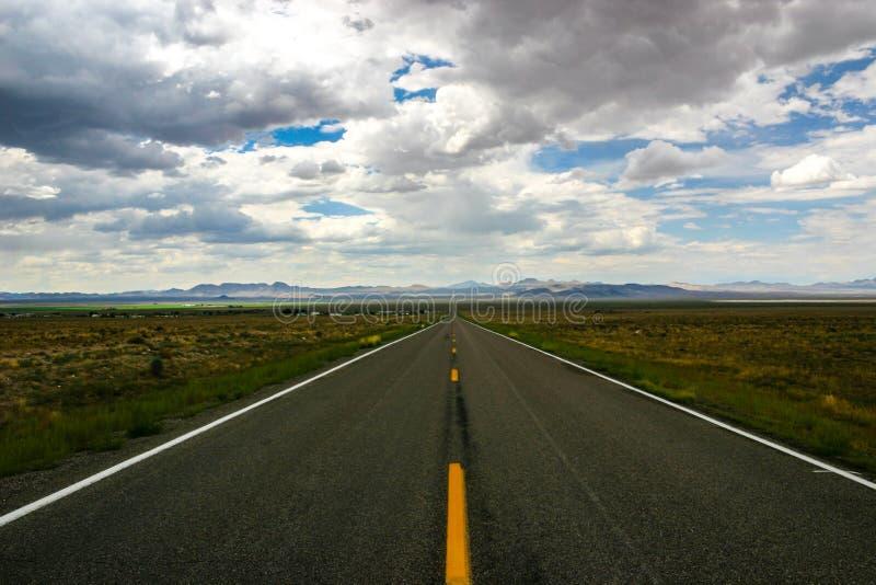 Εξωγήινη εθνική οδός - κρατική διαδρομή 375 στοκ φωτογραφία με δικαίωμα ελεύθερης χρήσης