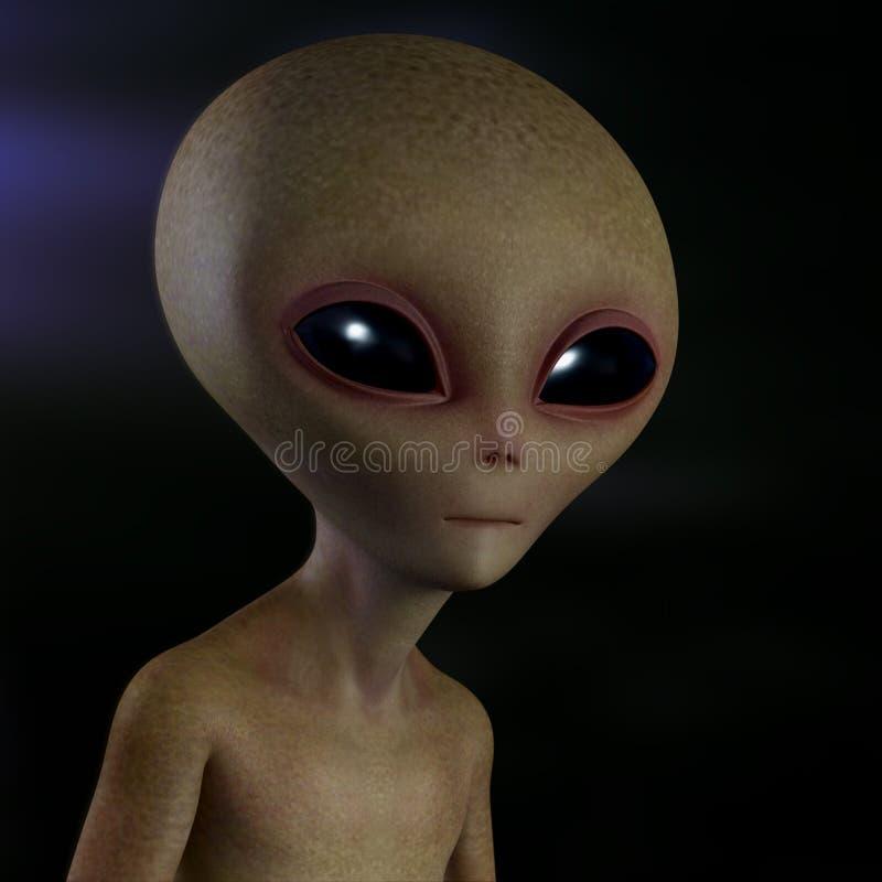 Εξωγήινος αλλοδαπός ελεύθερη απεικόνιση δικαιώματος
