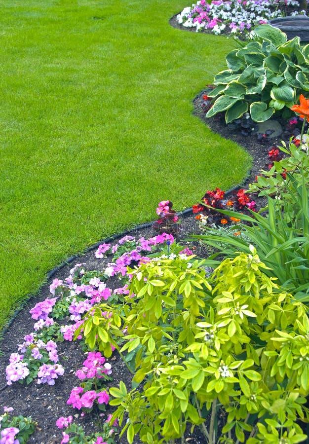 εξωραϊσμένη κήπος αυλή στοκ εικόνες