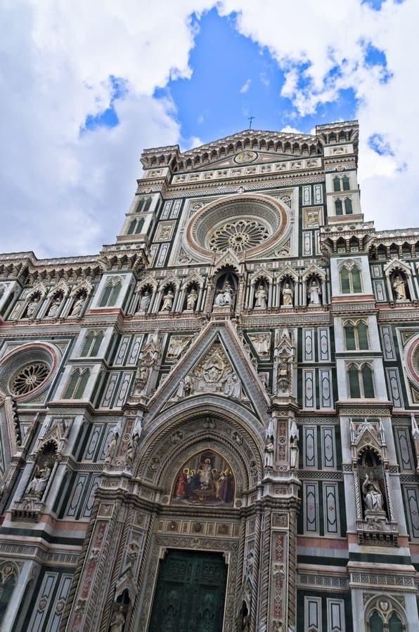 Εξωτερικές λεπτομέρειες του καθεδρικού ναού της Σάντα Μαρία del Fiore στη Φλωρεντία, Τοσκάνη στοκ εικόνες με δικαίωμα ελεύθερης χρήσης